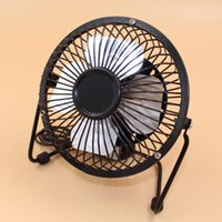 Wholesale Portable Super Mute PC USB Cooler Cooling Portable Desk Mini Fan for Notebook Laptop Computer With key switch