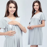Wholesale New Maternity Supplies maternity clothes maternity dresses nursing clothes Nursing dress pregnant dress pregnancy clothes for Pregnant Women