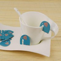 bags ce card - Easy BAG paper coated elephant cartoon hanging cup cup card bag tag wire DIY bag