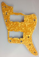 Wholesale For US Jazzmaster Guitar Pickguard Ply Golden Pearl