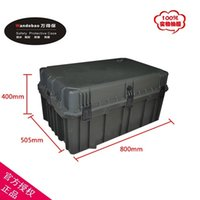 Wholesale Tool case toolbox large suitcase Impact resistant sealed waterproof box case mm Spare parts kit camera case with foam