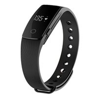 Wholesale Smartband ID Bluetooth Smart Wristband With Tracker Bracelet Android With Heart Rate Monitor PK Xiaomi Mi Band DHL free