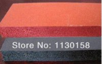 ag types - Krimpkous x500x2mm Ag TOP QUALITY Silicone Sponge Sheet mm Width mm Thickness Closed Cell Foam Silikon Red Color