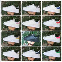 Wholesale Factory Classic casual shoes new stan shoes fashion smith sneakers casual leather men women sport running shoes