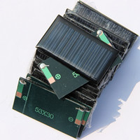 battery powered boat - 5V mA X30mm Solar Cell Mini Small Power DIY Solar Toy Panel For V Battery Charger Education kits