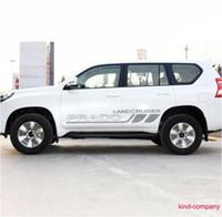 Wholesale 1 set grey vehical truck car sport styling Landcruiser car sticker auto waist line decal for PRADO