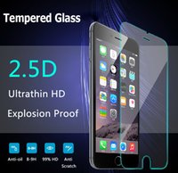 Wholesale i7 D mm Tempered Glass Screen Protector Film For IPhone s plus SE s s