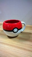 animated coffee cup - Hot Selling Fashion Trend Animated Cartoon Peripheral POKE MON Ceramic Cups Milk Cups Coffee Cups