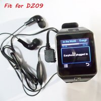 Wholesale DZ09 Earphone in ear Style for GT08 Smart Watch Micro USB Plug Wired Earphone for Smart Watch Support Microphone Voice Call