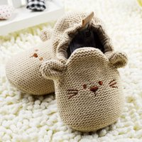 Wholesale Fashion New Autumn Winter Baby Shoes Girls First Walkers Newborn Crib Shoes M Shoes