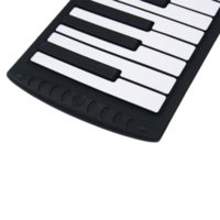 Acheter 49 key hand rolled piano-2014 NOUVEAU 1PCS Piano électrique 88 Clés USB Roll Main Piano Silicon Piano Roll Up For Beginner Home Education Livraison gratuite Par courrier