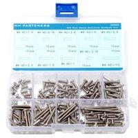assortment machine screws stainless - Phillips Pan Head Machine Screws Assortment Kit Stainless Steel