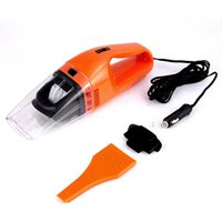 Wholesale 70W Portable Car Vacuum Cleaner High Power for Wet and Dry White