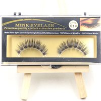 best fake eyelashes - Best Quality False Eyelashes Handmade Natural Long Thick Mink Fur Eyelashes Soft Fake Eye Lash extensions Black Terrier Full Strip Lashes
