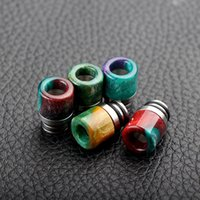 bear net - unique design fashion drip tips Mini Resin wide bore drip tip with SS base g net weight
