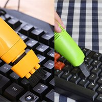 Wholesale Mini Computer Laptop USB Vacuum Keyboard Cleaner Dust Collector Brush For Laptop PC