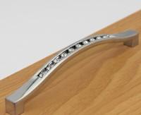 Wholesale New Arrive Crystal Handles Kitchen Cabinet Knobs Zinc Alloy Drawer Pulls