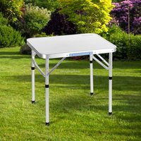 Wholesale Portable Folding Aluminum Table Outdoor Picnic Party Dining Camping Desk