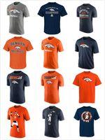 Wholesale Broncos Facility Peyton Manning T Shirt Heathered mens short sleeve sports TShirt Men s Clothing TShirts Size S XL