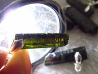 animal origins - Natural Raw ore Green Tourmaline pendant Crystal Lapidary Specimen pendant origin gems chakra stone Pendant