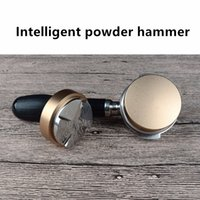 Wholesale Stainless steel coffee tamper quantitative sessile Intelligent powder hammer mm