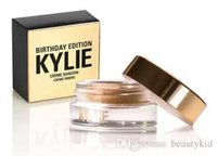 Wholesale 2Colors Kylie Cosmetics Birthday Edition kylie Crème Shadow Creme Ombre Make UP Eye Cream Copper Creme Shadow DHL MKK009