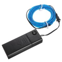 best power tubes - Best Promotion For M EL Wire Tube Rope Battery Powered Flexible Neon Cold Light Car Party Wedding Decoration With Controller