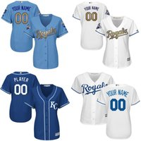 authentic names - Custom kansas city royals Women Authentic Alternate Baseball Jersey Personalized any name and number stitched Embroidery logos S XL