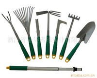 Wholesale Garden Tools Shovel Trigeminal Nail Steel Aluminum Plastic Rake F Hoe High Strength Product No Smell