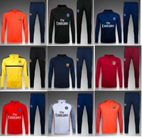 arsenal soccer jacket - New arrived jacket Madrides Barcelonas Chelsea psg Arsenal soccer muniches REAL with pant Survetement Tracksuit Maillot coat chandal sweater