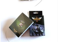 Wholesale novelty High Quality LOL playing cards and poker League of Legend Games Ashe Garen Ezreal Lee Kata collective poker