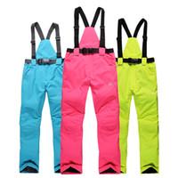 Wholesale Germany Waterproof Ski Pants Women High Quality Snowboard Pants Women Man Winter Sport Pants Color Size
