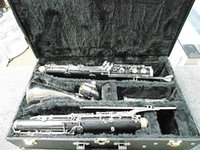 bass clarinet cases - Selmer Paris Bass Clarinet to low Eb nice condition New Case