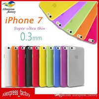 For Apple iPhone iphone 4 clear case - 0 mm Ultra Thin Slim Matte Frosted Transparent Clear Soft PP Cover Case For iPhone Plus S inch S S Free Ship MOQ