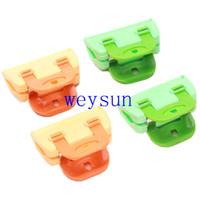 Wholesale Portable ABS Plastic Bread Bag Clip Powder Food Package Bag Clip for Sale