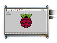 Wholesale 7inch HDMI LCD Capacitive Touch Screen LCD for Raspberry Pi pcDuino Video Photo Module