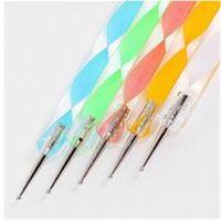 Wholesale Way Dotting Pen Marbleizing Painting Tool Nail Art Dot Set FPW