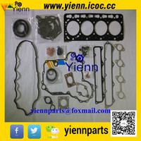Wholesale Kubota V3800 engine overhual gasket kit upper lower set and head gasket G514 For M1004 Tractor V3800 DI TI parts repair