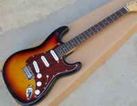 basswood strat body - new arrival high quality john mayer signature custom shop strat sunburst rosewood fingerboard electric guitar