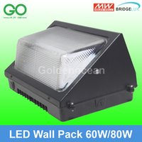 Wholesale LED Wall Pack Light W W Outdoor Wall Mounted Industrial Lights Meanwell UL ETL SAA CE Equal W traditional wallpack lamp Shoebox Light