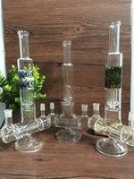 action types - Labs Glass water pipes Dual Action Double Joint Inline to Circ Perc Straight Tube inch height mm