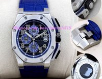 auto theme - Equipped With Original Box Luxury Wristwatch Top Quality Sapphire Grey Theme ST OO A104CR Quartz Chronograph Mens Watch Watches