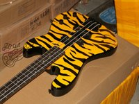 Wholesale electric bass New style Yellow Strings Electric Bass guitar