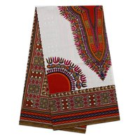 Wholesale African Wax Hollandais for Dress Real Dutch Batik White Nigeria Wax Prints Hollandais For Dress Dashiki Sewing