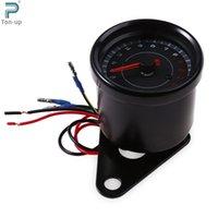 auto parts tachometer - Auto Electric RPM Tachometer Meter Gauge LED Shift Lighting V Instruments Motorcycle Modification Part