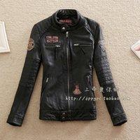 Wholesale Hot Lambskin Biker Jacket For Lovers Genuine Leather Jacket For Women And Men Unisex Natural Sheepskin Leather Motor Jacket