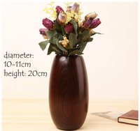 antique vintage vases - Home Decoration Accessories wood vase vintage style flower vase made from whole wood