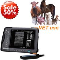 Wholesale handheld veterinary ultrasound ultrasound scanner for animals Vet USG machine Digital Palm Handheld Ultrasound Scanner