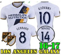 Wholesale La galaxy soccer jerseys Gerrard Giovani Keane Los angeles jersey football shirts SOCCER JERSEY customized Available