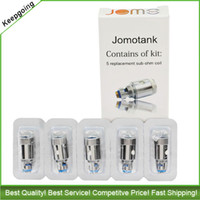 Wholesale Original JomoTech Jomotank coil ohm replacement sub ohm coils for E Cigarette Jomo ml clearomizer tank by JomoTech Authorization